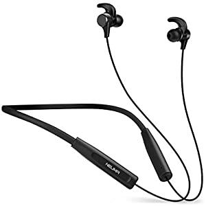 Neuma Wireless Bluetooth Headphones Neckband Bluetooth Sports Earphones In Ear Earbuds Noise Cancelling Headsets Best Neckband Earphones