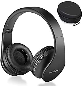 Worwoder Wireless Bluetooth Over Ear Stereo Foldable Headphones It Is On Ear And Not Over The Ear Headphone But Apart From That I Am Happy With The Sound And Comfortable Wear